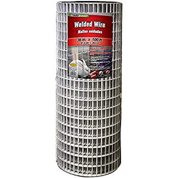 YARDGARD 309223A 36 inch by 100 foot 14 gauge 1 inch by 2 inch mesh galvanized welded wire