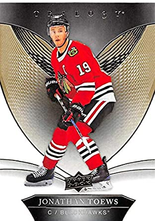 2018-19 Upper Deck Trilogy Hockey  40 Jonathan Toews Chicago Blackhawks  Official Trading Card fc6f27122