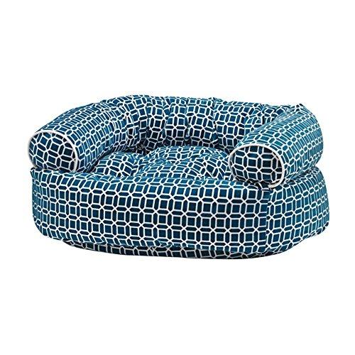 Bowsers Diamond Series Microvelvet Double Donut Dog Bed (Donut Double Microvelvet Bed)
