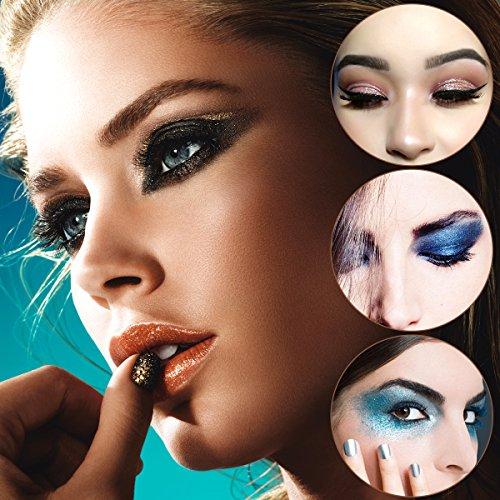 Shimmer Eyeshadow Palettes Set, ETEREAUTY Glitter Pigment ...