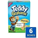 Teddy Grahams Honey Graham Snacks, 6 - 10 oz Boxes
