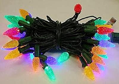 Philips 60ct. LED C6 String Lights - Multiple Color Bulbs