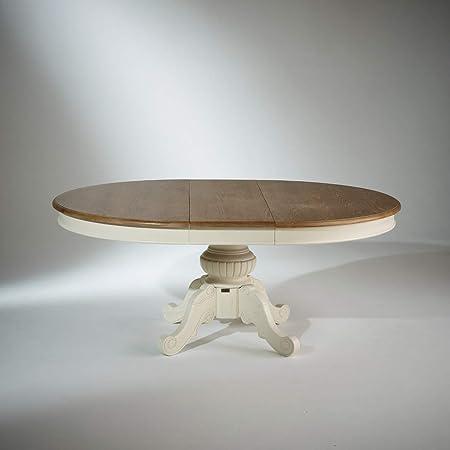 Robin Des Bois Table Extensible 8 A 10 Couverts Blanche