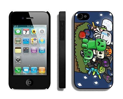 Zhuxiuhu Most Popular llama iPhone 4 4S Case Black