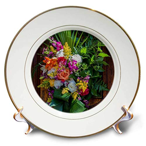 3dRose USA, South Carolina, Charleston, Easter at St. Michaels Church.-Porcelain Plate, 8