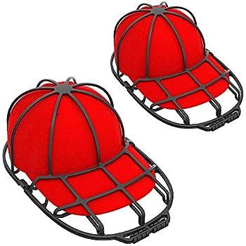 196fb1905 XQXA Hat Washer, 2pcs Cap Washer, Sturdy Baseball Hat Washer for Dishwasher,  Hat Racks for Baseball Caps 2019 Release Hat Cleaner - Black