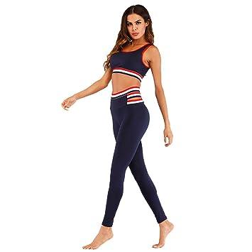 FYFY Yoga Conjunto de Mujer, Mujeres Chaleco Deportivo Top ...