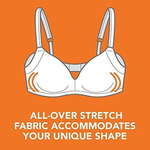 Warner's Women's Easy Does Bra It No Bulge Wire-Free Bra