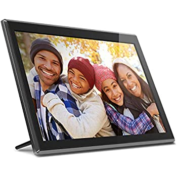 "Amazon.com : Aluratek 17.3"" WiFi Digital Photo Frame with"