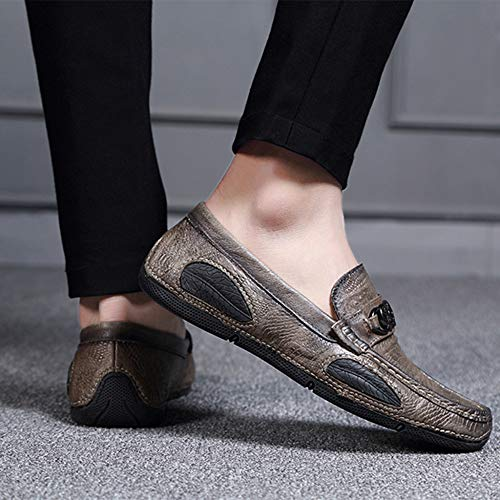 Scarpe Indoor Pantofole Per Casa Advanced Invernali Slip Anti Shoes Driving Da Uomo Mocassini Grey Outdoor Uww8qnBxvS