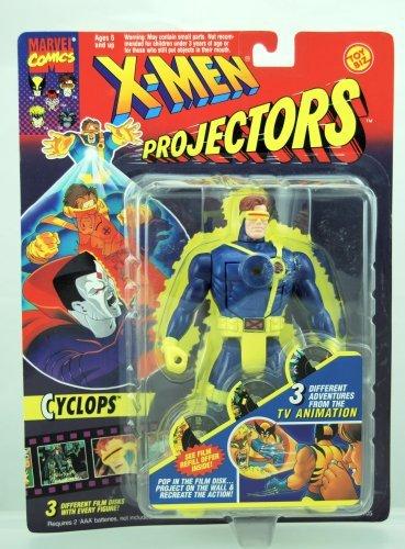 Toy Biz Mint - X-Men Projectors - Cyclops Action Figure - RARE - 3 Different Film Disks - 1994 - Toy Biz - Marvel - Limited Edition - Mint - Collectible