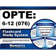 OPTE: 6-12 (076) Flashcard Study System: CEOE Test Practice Questions & Exam Review for the Certification Examinations...