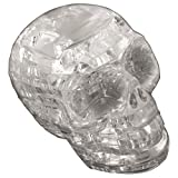 Crystal Puzzle - Skull - Clear