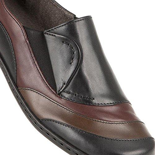 Shoe Slip 646 Black ara On Leather 308 Hxt7a
