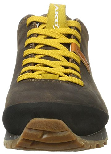 AKU Bellamont FG GTX - Zapatos Unisex Adulto Braun (Dk.Brown/Yellow)