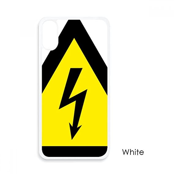 Amazon Warning Symbol Yellow Black Electric Shock Triangle For