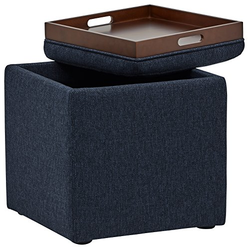Fine Rivet Ross Tweed Modern Lift Top Storage Ottoman 18W Alphanode Cool Chair Designs And Ideas Alphanodeonline