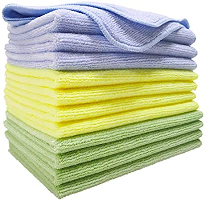 30x40 cm, 24 Pack Polyte Microfibre Cleaning Cloth