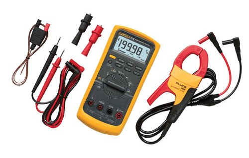 Fluke 87V/IMSK Industrial Digital Multimeter with Fluke i400 Clamp Meter Combo Kit (Clamp Digital 400a)