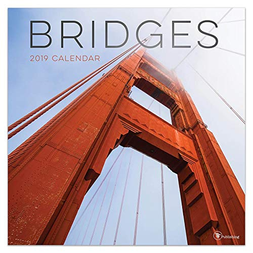 2019 Bridges Wall Calendar