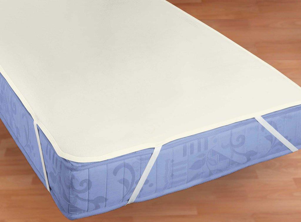 Molton Matratzenauflage Matratzenschoner wasserundurchlässige Inkontinenzauflage mit Silberausrüstung ca. 70 x 140 cm Beautiful-Hometex