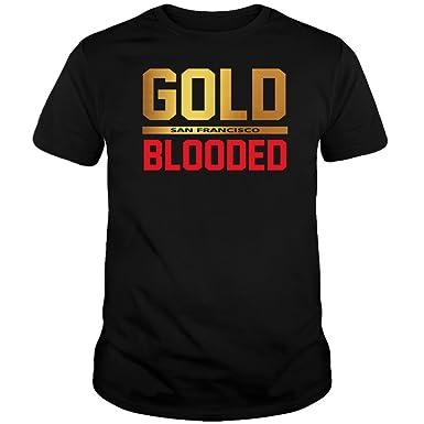 Amazon.com  San Francisco Gold Blooded Shirt  Clothing f6923b964