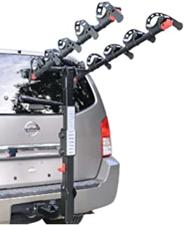 Allen Sports Deluxe 5 Bike Hitch Mount Rack With 2