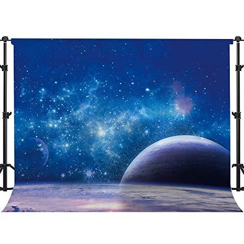 - EARVO 7x5ft Starry Galaxy Backdrop Cosmic Sky Planet Shining Stars Photography Background Astronaut Party YouTube Cotton Backdrop Studio Video Props EA041