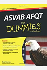ASVAB AFQT For Dummies Paperback