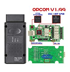 OPCOM Function:  1. It covers almost all Opel cars, even new cars with CAN-BUS based diagnostic, such as Vectra-C, Astra-H, Zafira-B. 2. The program lets you to read out and clear fault codes, shows you live data, lets you to perform output t...