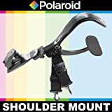 Polaroid Stabilizing Camcorder/Camera Video Shoulder Mount For The Panasonic Lumix DMC-G3, DMC-GF3, DMC-G1, DMC-GH1, DMC-GH2, DMC-GH3, DMC-GH4, DMC-L10, DMC-GF1, DMC-GF2, DMC-G10, DMC-G2, DMC-GF3, DMC-G3, DMC-GF5, DMC-G5, DMC-GF6, DMC-G6, DMC-GX7, DMC-GM1 Digital SLR Cameras Lumix DMC-G1, DMC-GH1, DMC-GH2, DMC-L10, DMC-GF1, DMC-GF2, DMC-G10, DMC-GF5, DMC-G2 Digital SLR Cameras