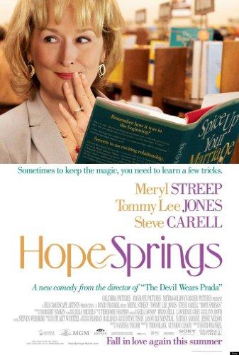 HOPE SPRINGS MOVIE POSTER 2 Sided ORIGINAL 27x40 MERYL STREEP (Meryl Streep Tommy Lee Jones Steve Carell)