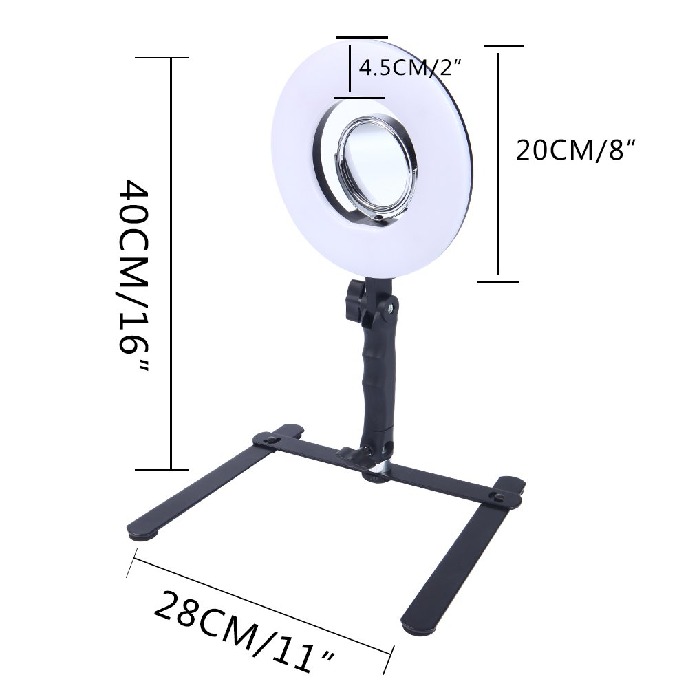 Amazoncom Selfie Ring Light For Phone Video Shooting Makeup