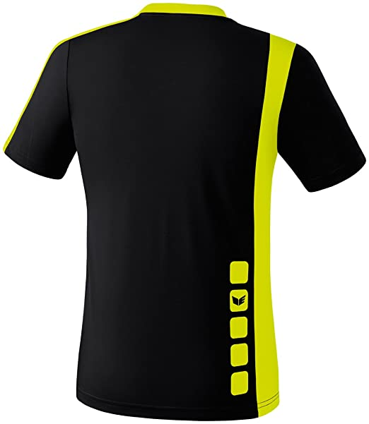 Amazon.com : Erima Childrens Shooter Jersey Zamora XX-Small/X-Small Black - Yellow : Sports & Outdoors