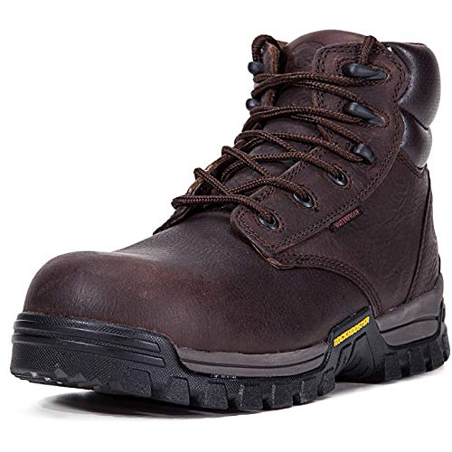 c1e54a57f43 ROCKROOSTER Work Boots for Men, Composite Toe, Arch Support, Kevlar ...