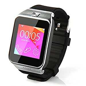 M6 Bluetooth Smart Wrist Watch Phone Mate For IOS Android Samsung iPhone HTC Black