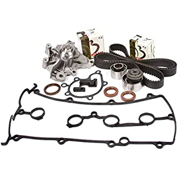 Evergreen TBK228VCT Fits Ford Probe FS 2.0 DOHC 16V Timing Belt Kit Valve Cover Gasket Water Pump