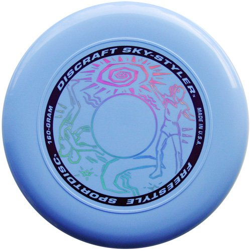 Discraft 160 Gram Sky Styler Sport Disc, Light Blue - All Sport Frisbee