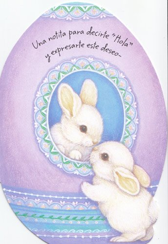 Amazon 1 easter card spanish just stopping by to say hello 1 easter card spanish quotjust stopping by to say helloquot translation m4hsunfo