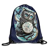 Alice Through Looking Glass White Sackpack