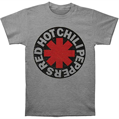 Bravado  Red Hot Chili Peppers - Asterisk Circle Adult T-Shirt (Red Hot Chili Peppers Top 15 Hits)