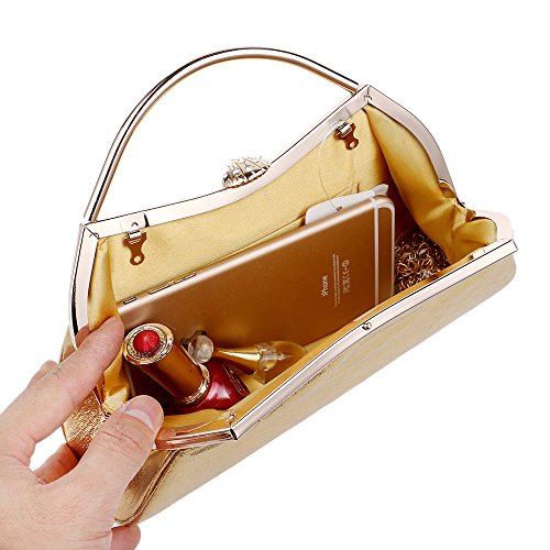 Dress Clutch Star Luxury Handbags Nightclub Evening GROSSARTIG Silver Banquet Evening Candy Bag Color wtEpPqR