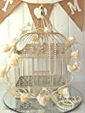 New Large Vintage Style Decorative Bird Cage Wedding Table Centerpiece Birdcage