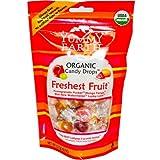Yummy Earth Organic Candy Drops Freshest Fruit - 3.3 Oz - Case Of 6