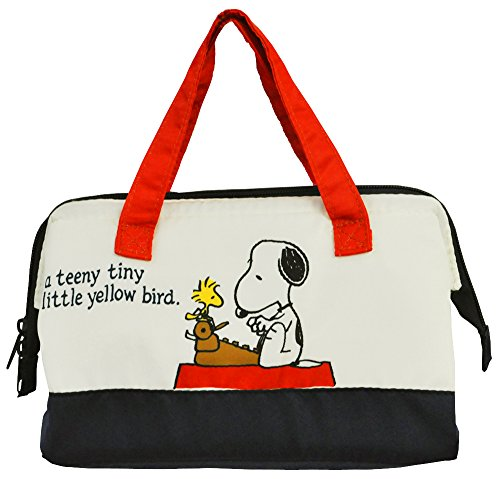 Skater Cooler Lunch Bag M Snoopy Peanuts 15 KGA1 by Skater (Image #6)