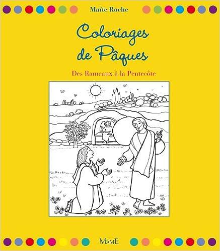 Livres gratuits Coloriages de Pâques : Des Rameaux à la Pentecôte pdf epub