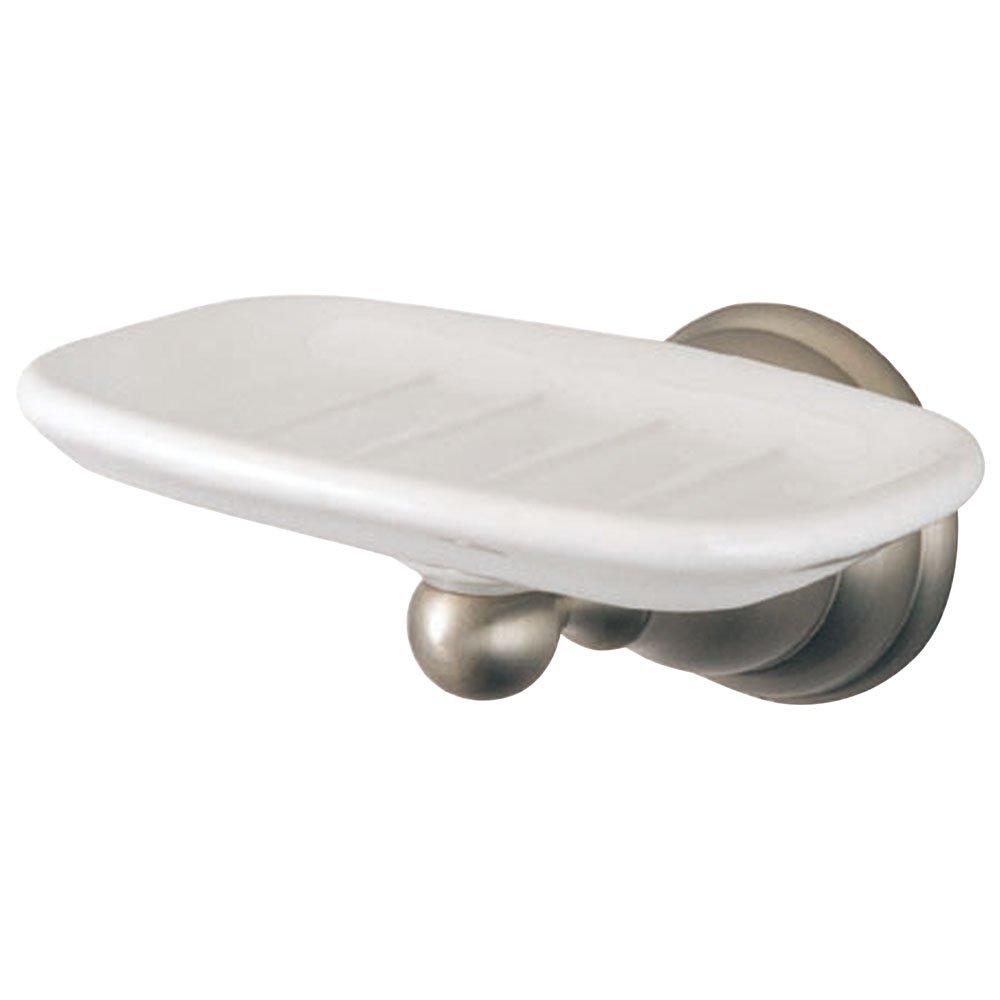 Kingston Brass BA5565SN Royale Soap Dish, 5-1/4-Inch, Brushed Nickel