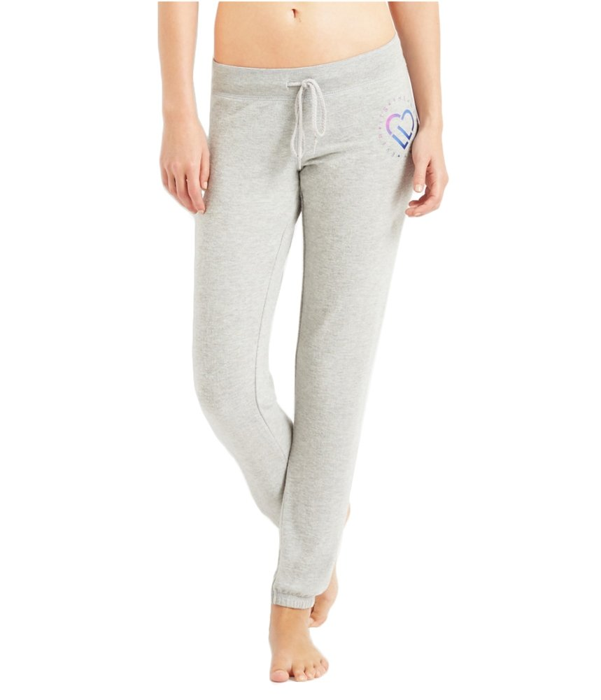 Aeropostale Womens Slim Cinch Athletic Sweatpants Grey S/29 - Juniors