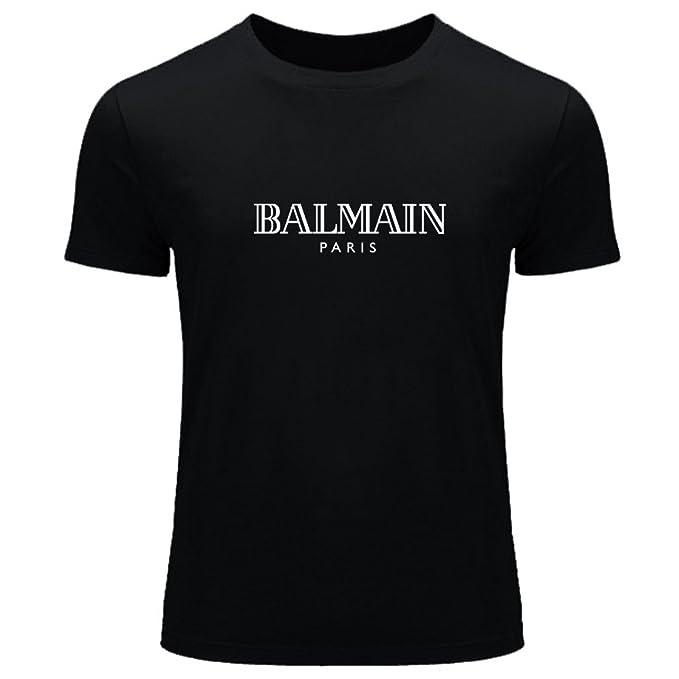 Balmain - Logo per bambini e bambine maglietta Tee outlet Black S/5 ...