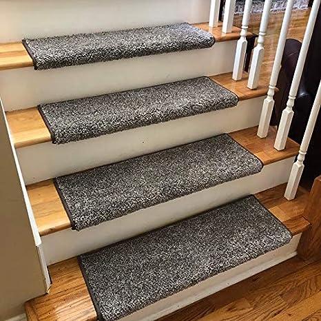 Bullnose Padded Carpet Stair Tread